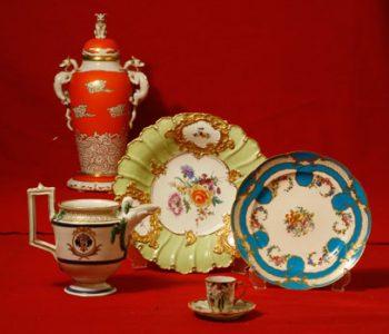 "Permanent exhibition ""Western European porcelain of the XVIII-XX centuries."""