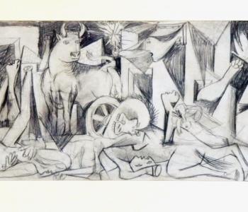"""Pablo Picasso's exhibition """"Paragraphs"""""""
